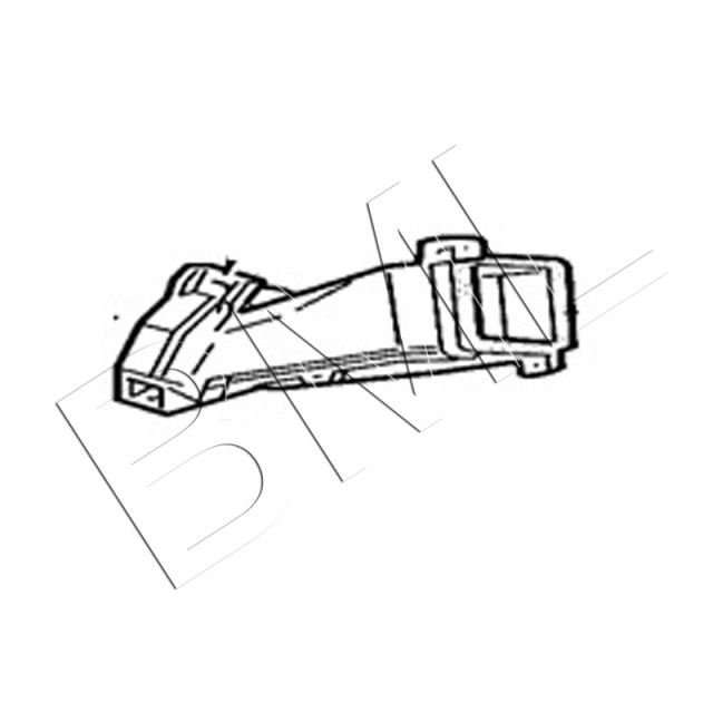 JAGUAR X308 AIR DUCT FOOTWELL RH DUCT. PART- MNA6990AB