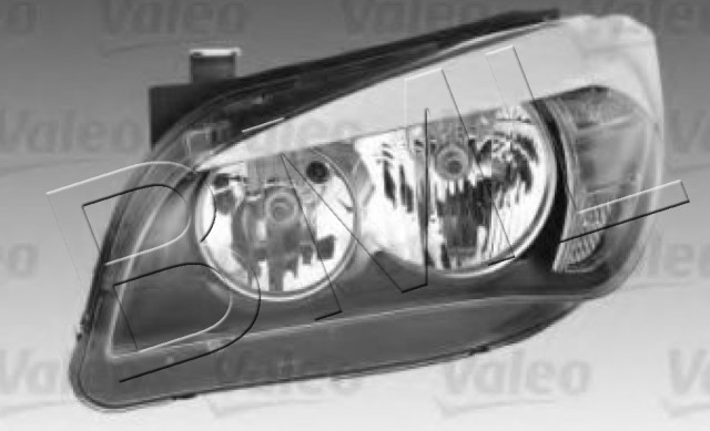 BMW SERIES 1 X1 E84 HEADLIGHT RIGHT HAND OE. PART- 63 11 2 990 004 / 44294VA