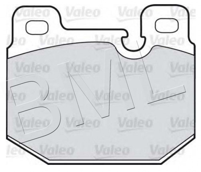 BMW SERIES 3 E21 1975 TO 1984 FRONT BRAKE PAD OE. - 34 11 1 159 251 / 598108VA