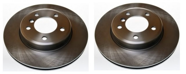 BMW SERIES 3 E46 1998 TO 2006 BRAKE DISC PAIR OE PART 34 11 1 164 539 / DF4055FD