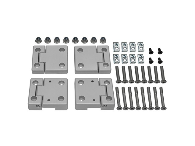 LAND ROVEAR SERIES 2 ALUMINIUM REPLACEMENT DOOR HINGE KIT. PART- DA1131