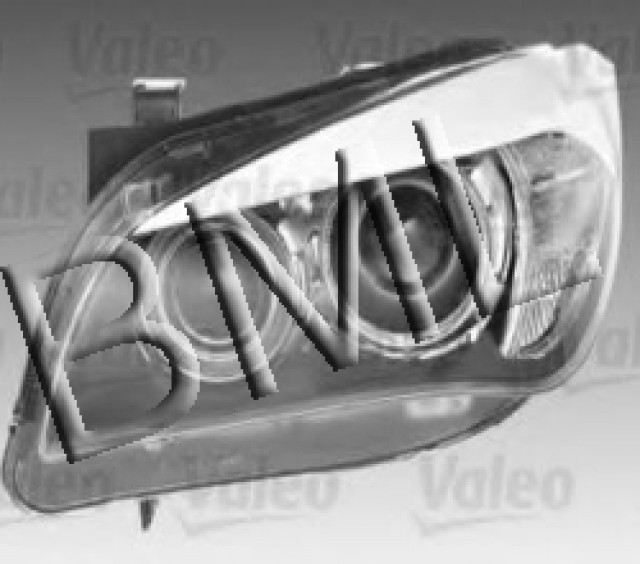 BMW SERIES X1 E84 2009 LEFT HAND HEAD LAMP OE. PART- 63 11 2 993 493 / 44297VA
