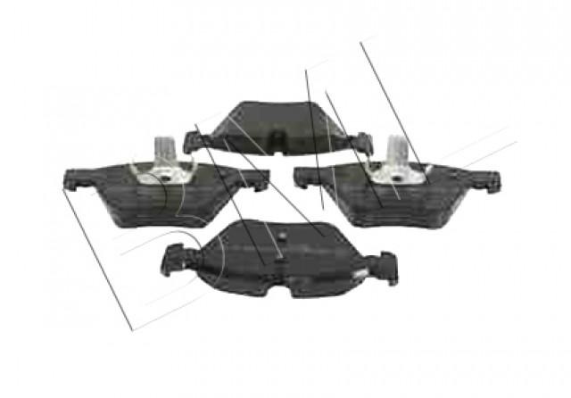 BMW SERIES 3 E90,E91,E92,E93 2005 TO 2013 BRAKE PADS FRONTS R90 34 11 6 763 617 / FBP0177FD