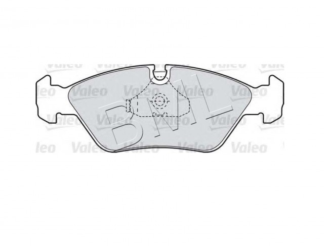 BMW SERIES 5 E28 1983-1988 BRAKE PAD PLA FRONT OE PART- 34 11 161 717 / 598104VA