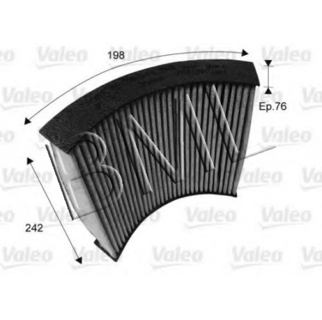 BMW SERIES 1 F20 2010 ONWARD CABIN AIR FILTER OE. - 64 11 9 237 555 / 715719VA