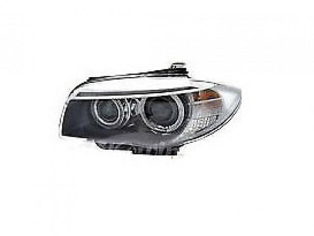 BMW SERIES 1 COUPE E82 2007 HEAD LAMP LEFT OE. PART- 63 11 7 263 641 / 44612VA