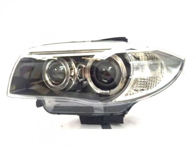 BMW SERIES 1 COUPE E82 2007 HEAD LAMP LEFT OE. PART- 63 11 7 273 833 / 44616VA