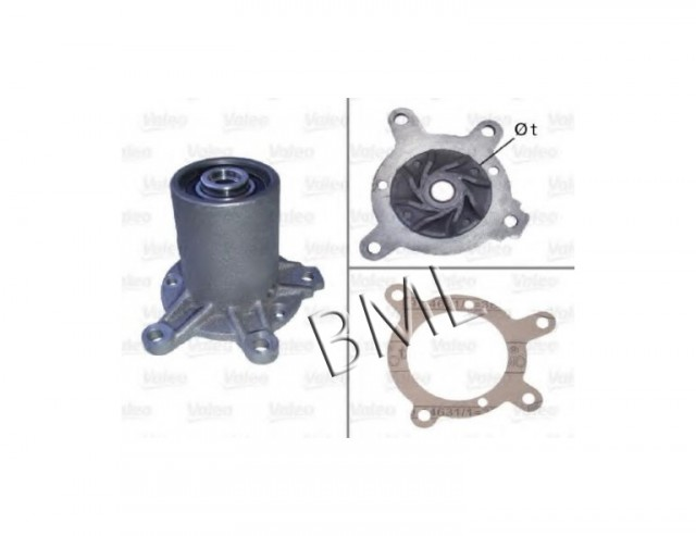 MERCEDES BENZ G-CLASS W460 1979 TO 1993 WATER PUMP. PART- 6162000420 / 506343VA