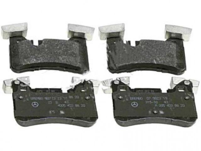MERCEDES BENZ E-CLASS W212 2009 REAR BRAKE PADS R90. PART- 005 420 9020 / GDB1856FD