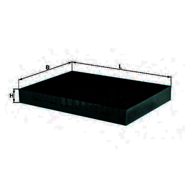 MERCEDES S-CLASS W221 2005 CABIN FILTER CP1297. PART 221 830 00184/ADU172515FD