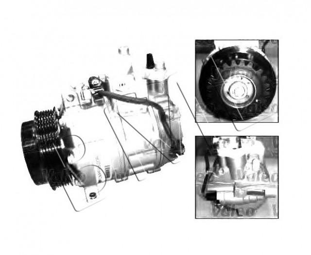 MERCEDES BENZ S-CLASS W220 1998 TO 2005 COMPRESSOR. PART- 2306511 / 813157VA