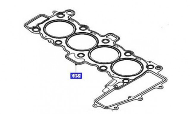 LAND ROVER -- GASKET - CYLINDER HEAD - GENUINE - LR073642
