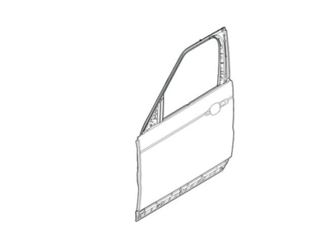 DOOR - FRONT - LESS HINGES LH. PART- LR080196LR