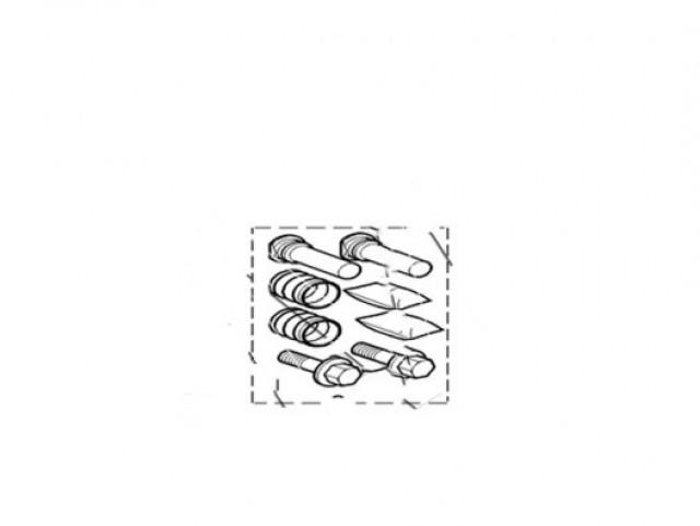 JAGUAR S-TYPE 1999 - 2008 BRAKE DISC AND CALIPER FRONT GUIDE PIN KIT. PART- XR810214