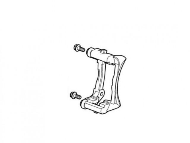 JAGUAR S-TYPE FR M45255 EX 4.2L SP.CH REAR BRAKE CALIPER ANCHOR BRACKET. PART- C2C12386